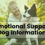 Emotional Support Dog Information