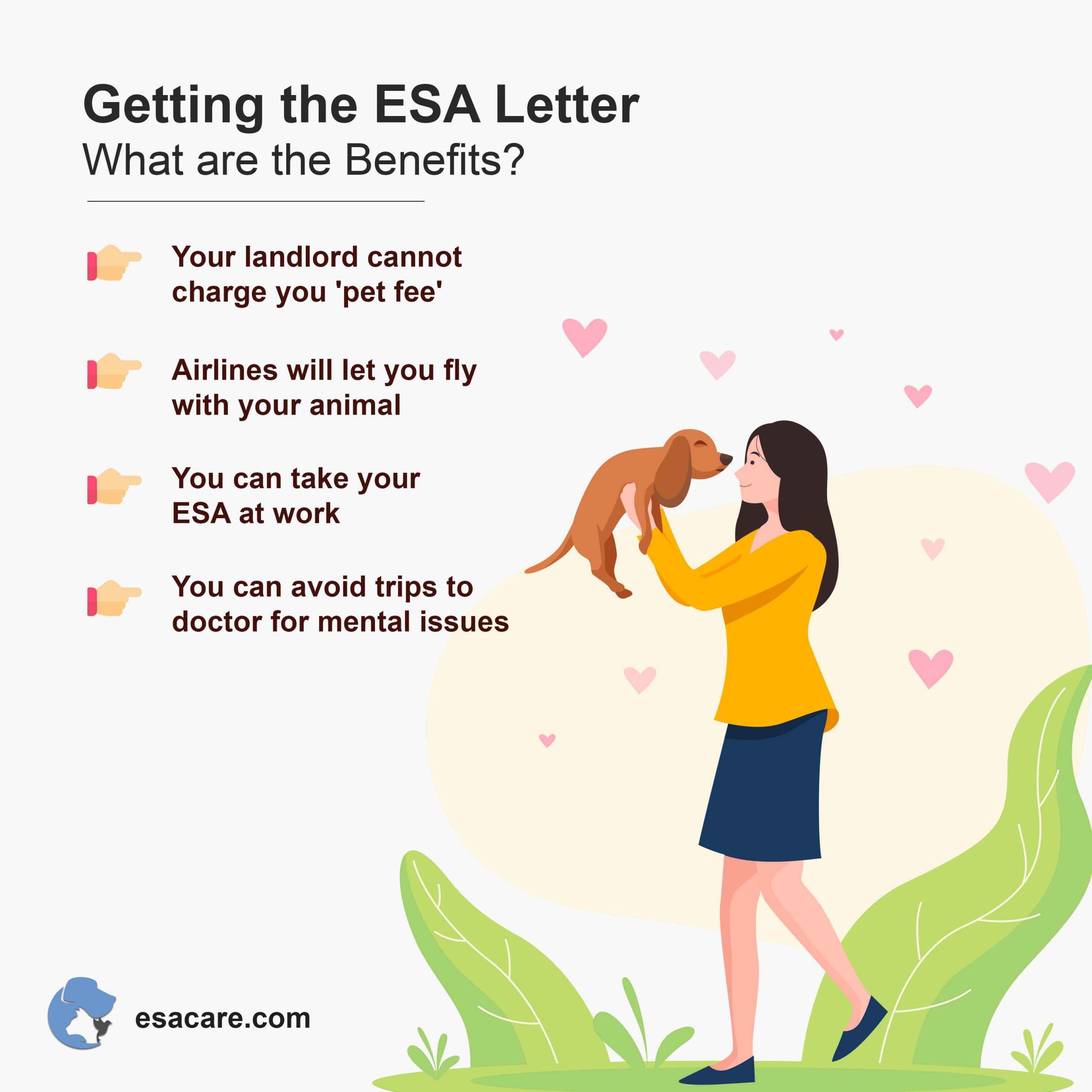 ESA letter benefits