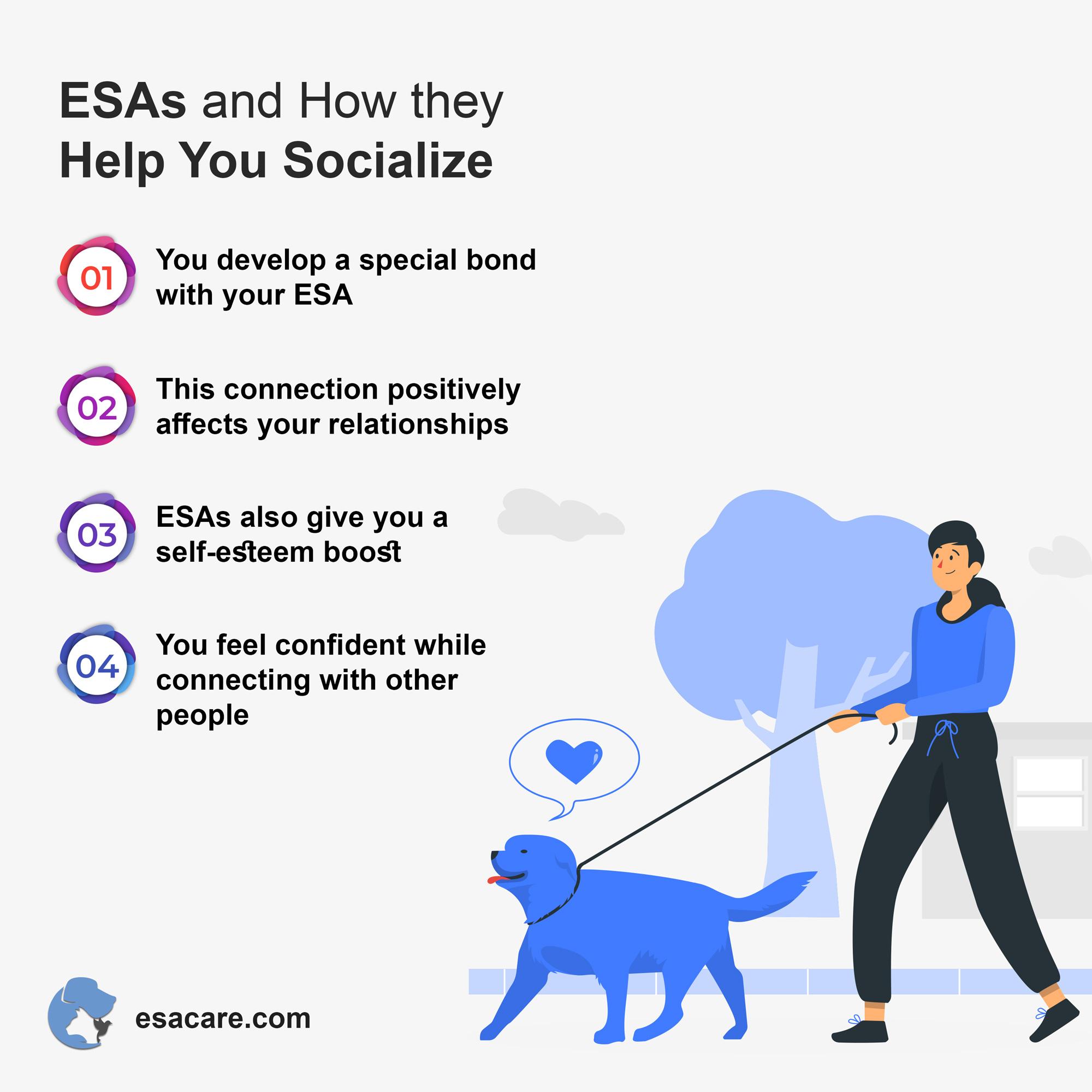 Emotional support animals benefits