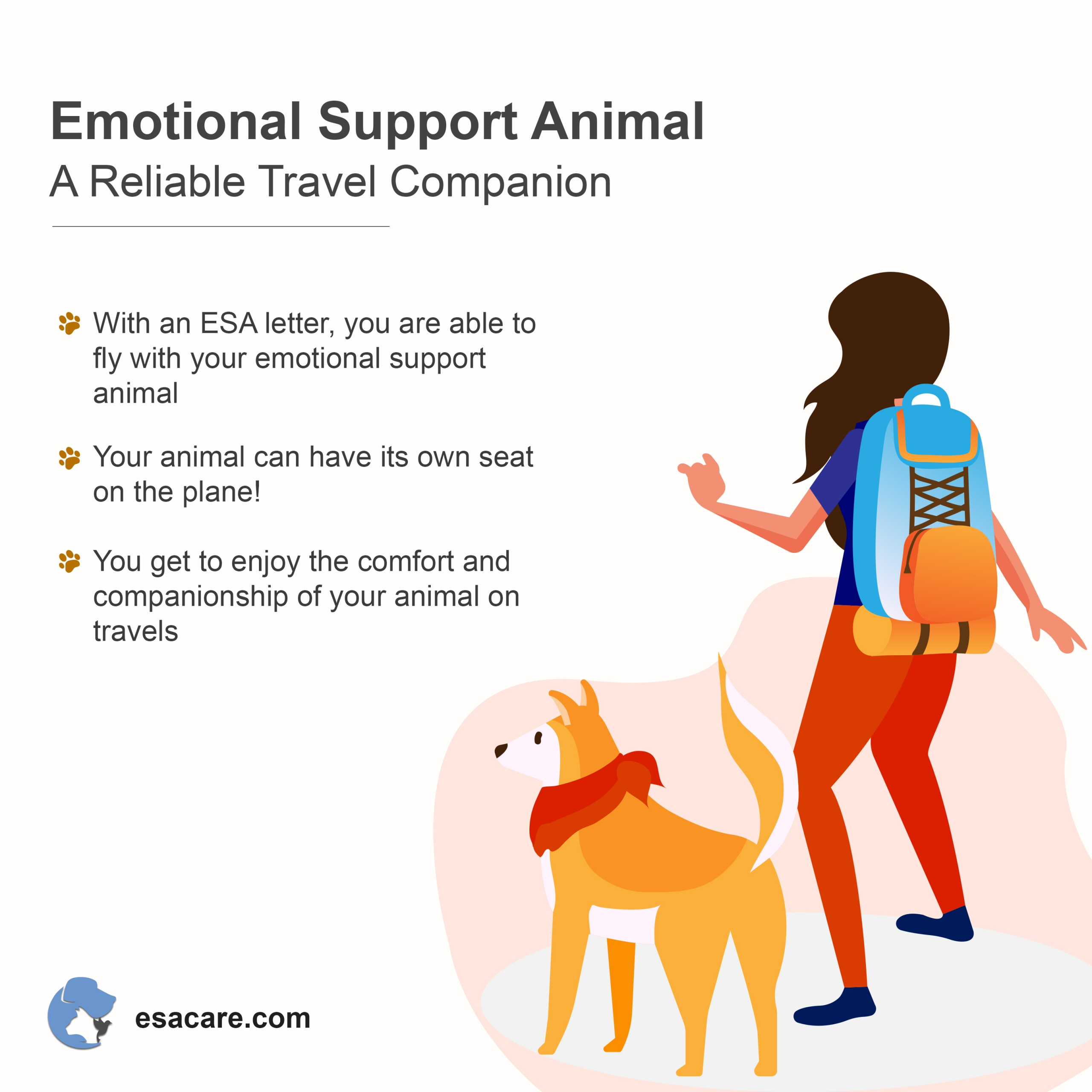 travel with an emotional support animal