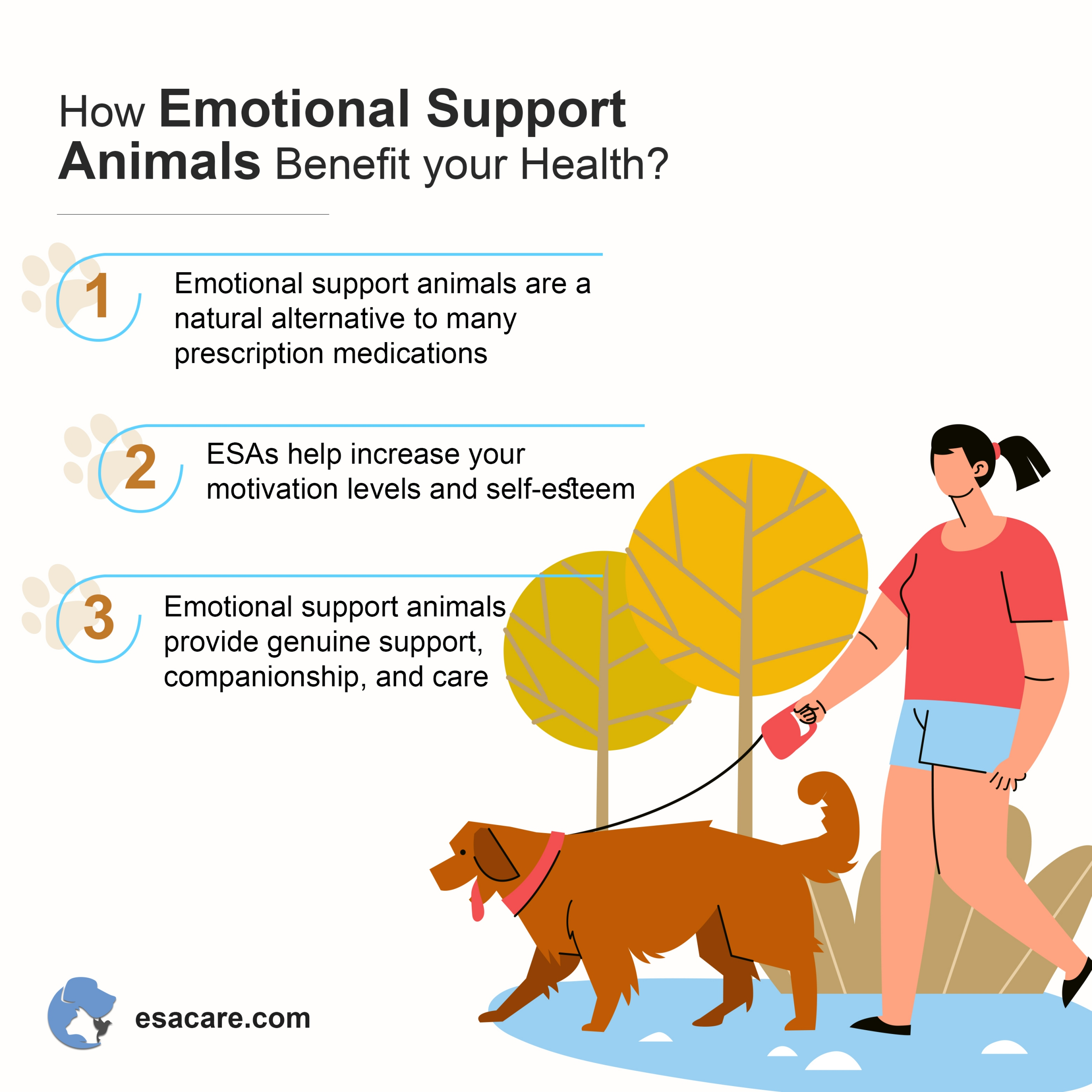 emotional support animals benefits