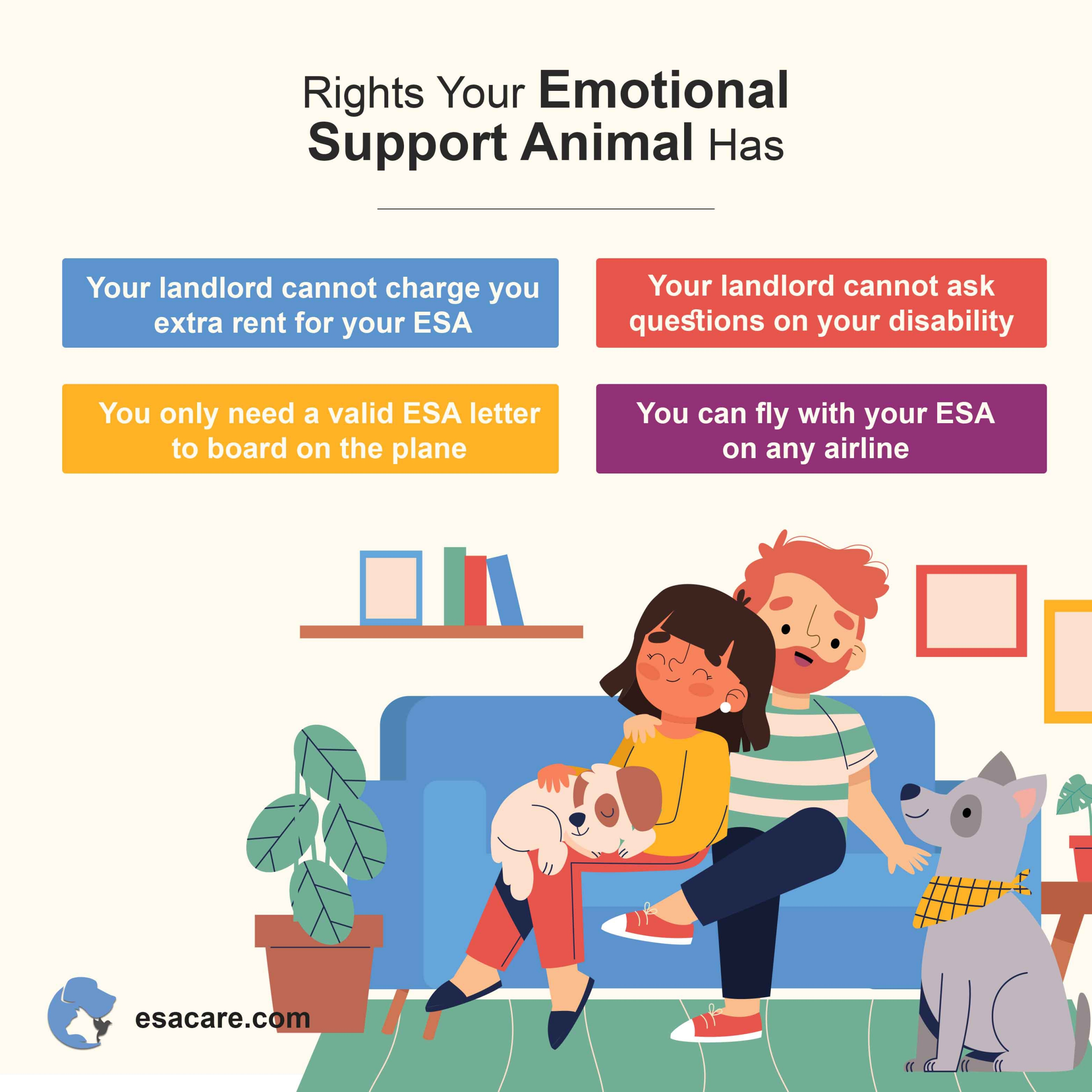 Emotional support animals rights