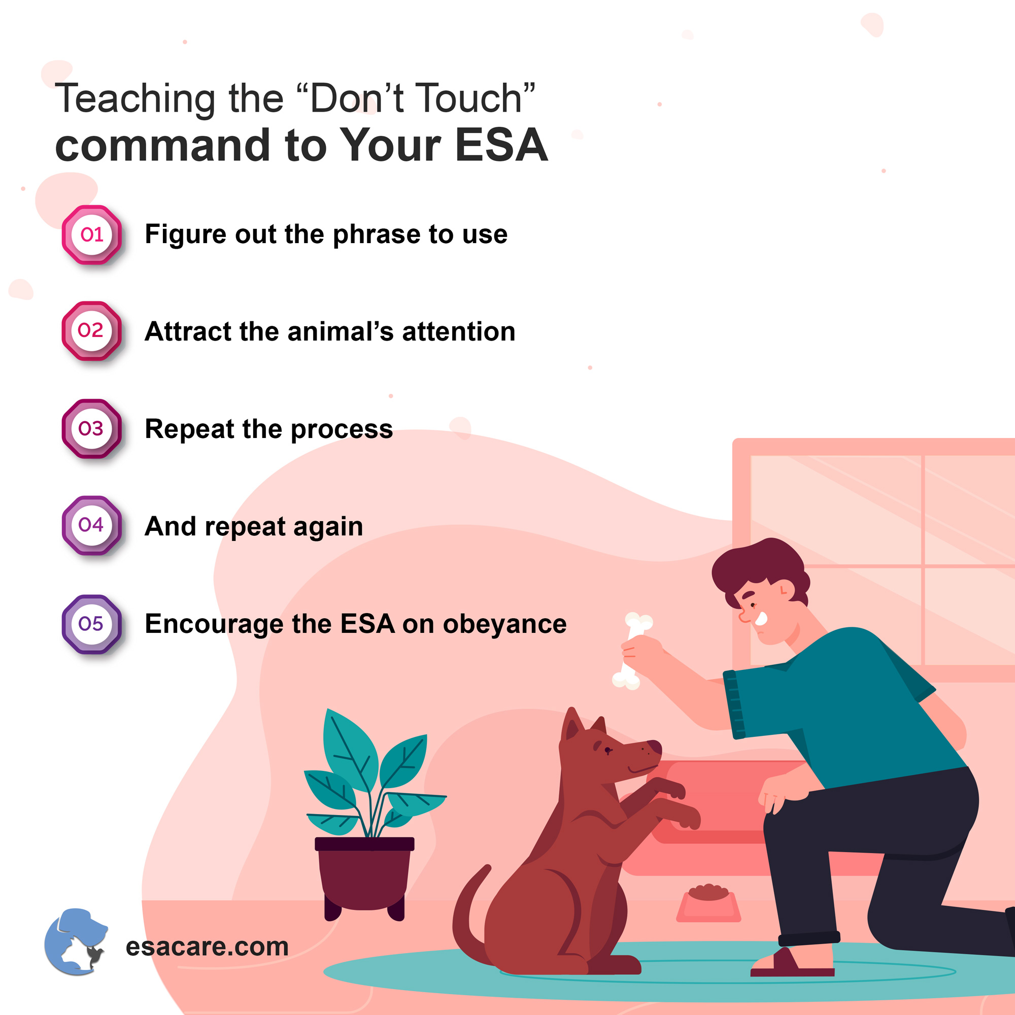 ESA don't touch command