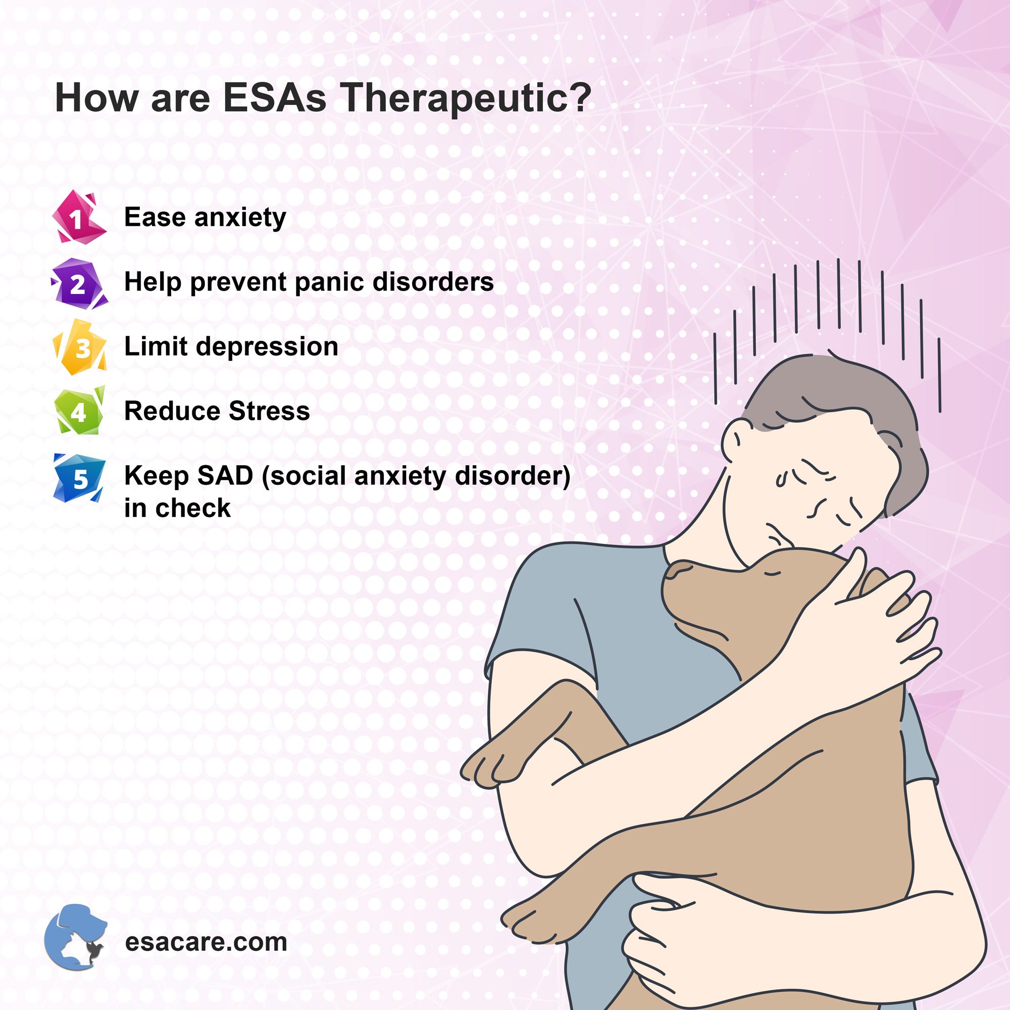 Emotional support animals therapeutic
