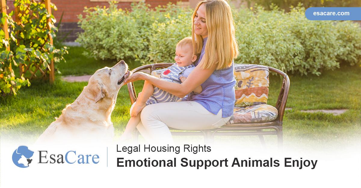 ESA housing laws