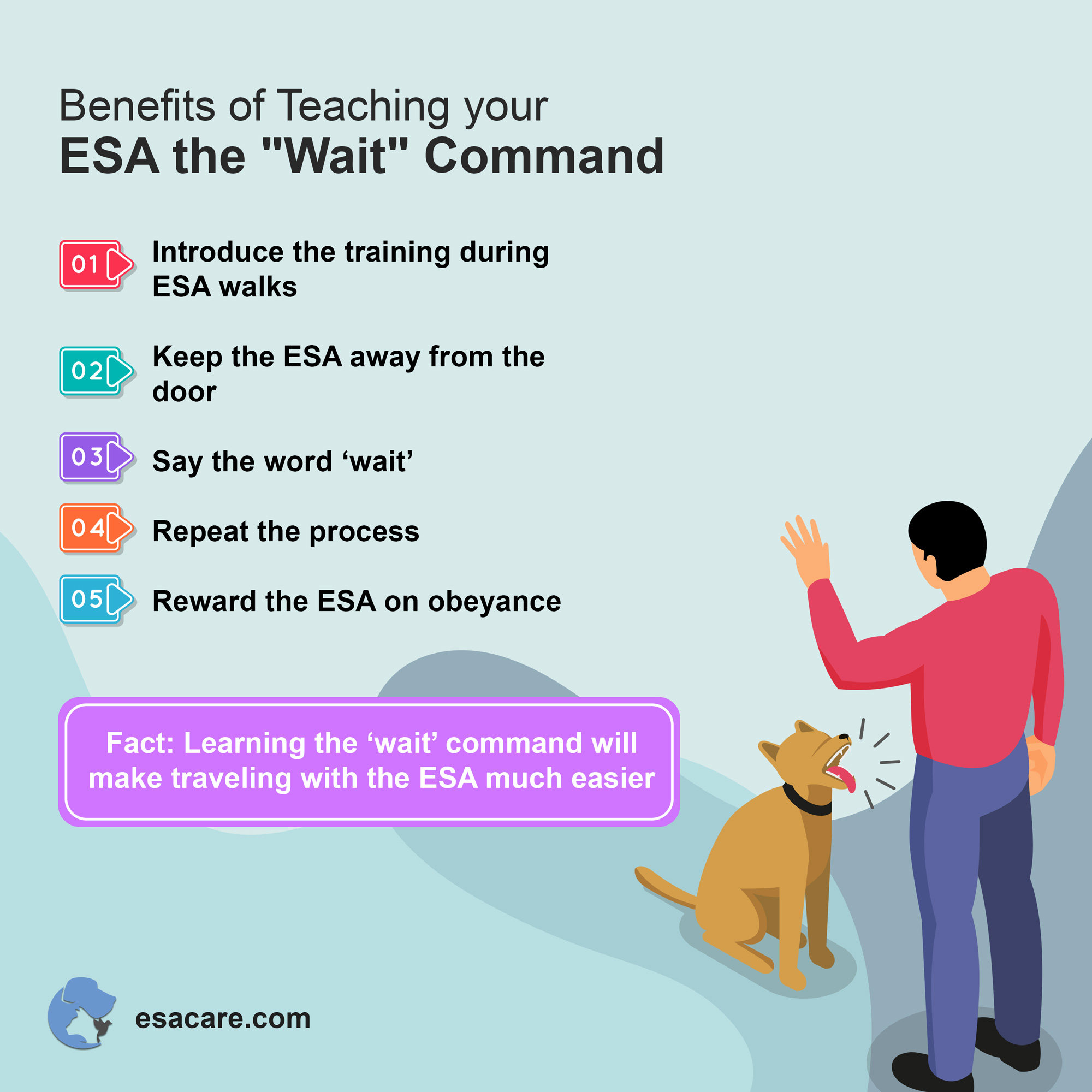 ESA wait command