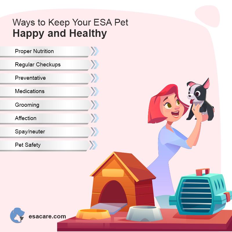 Healthy ESA Pet