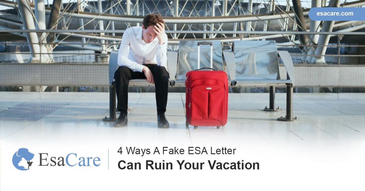 Fake ESA Letter