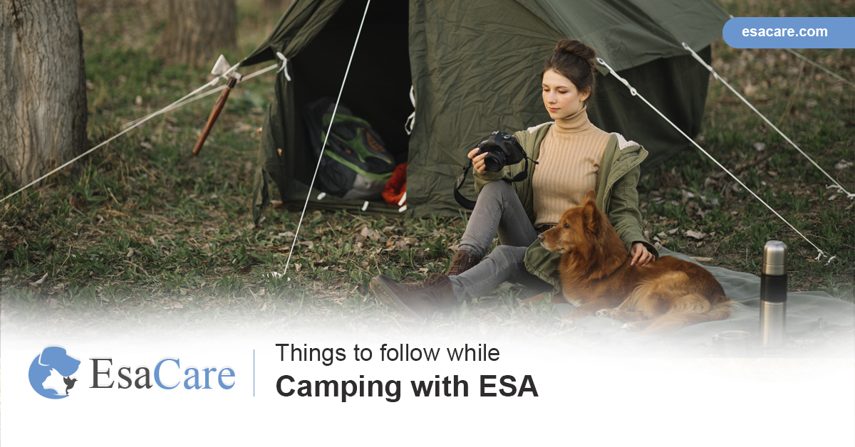Camping with ESA