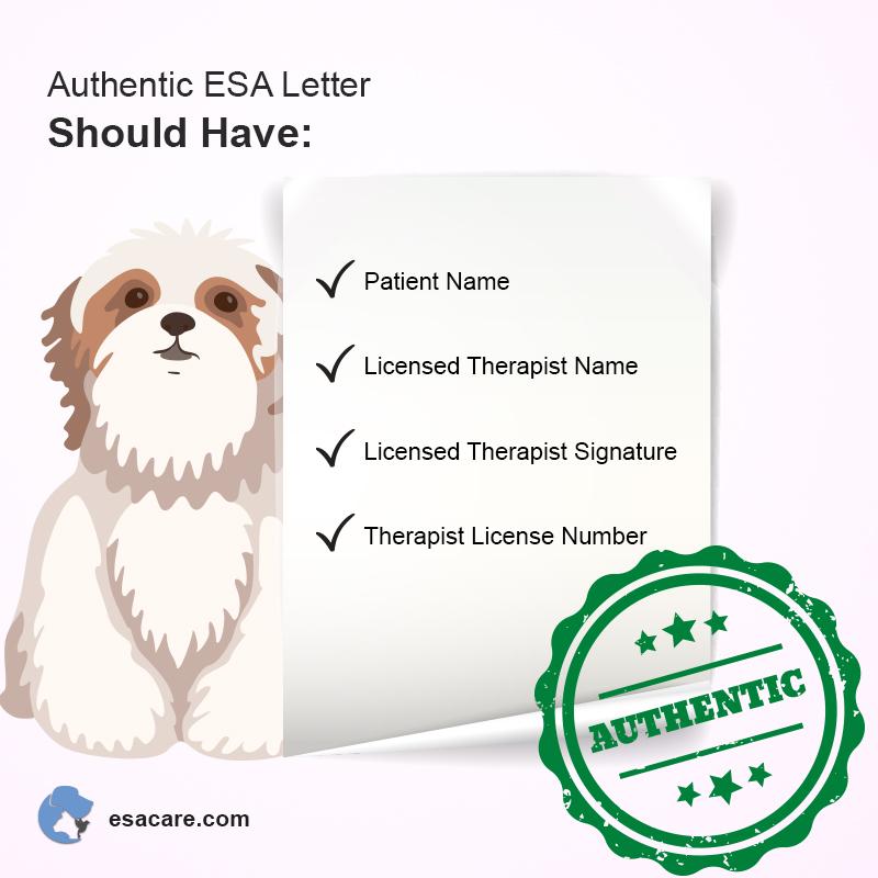 ESA Letter